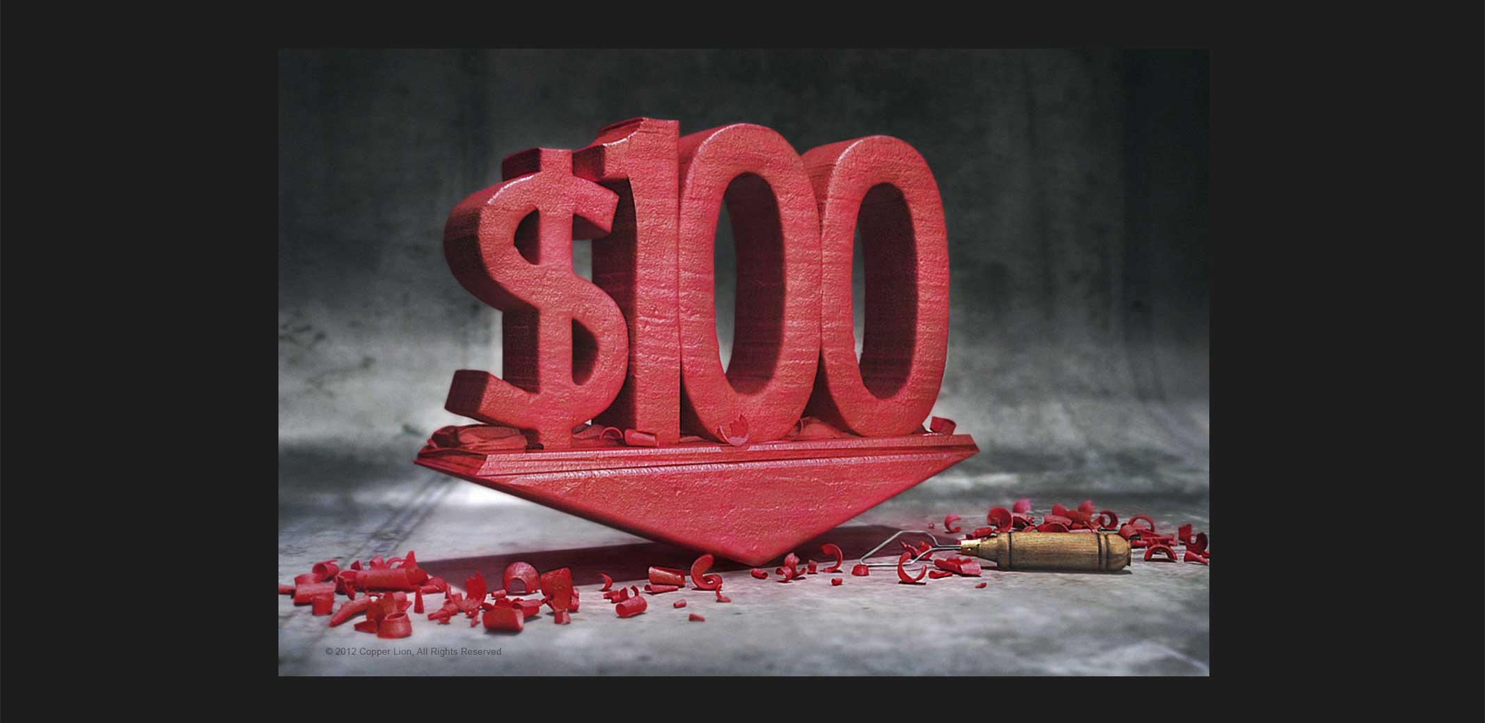 $100 Clay